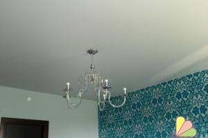 Фотографии тканевых потолков